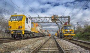 Railway Engineering Works overhead power electrification