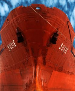 Big Red Maritime Ship Susie