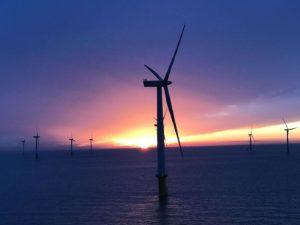 Gunfleet Sands Offshore Windfarm Sunrise