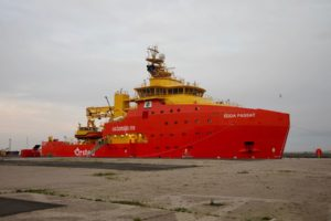 Offshore Windfarm Edda Passat Service Operation Vessel
